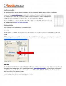 PDF Printing On Labels