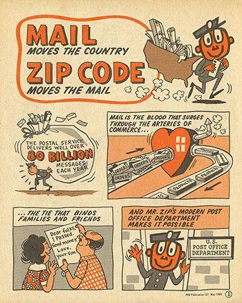 zip code comic