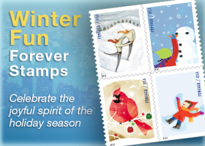 Direct Mail Holiday Stamps