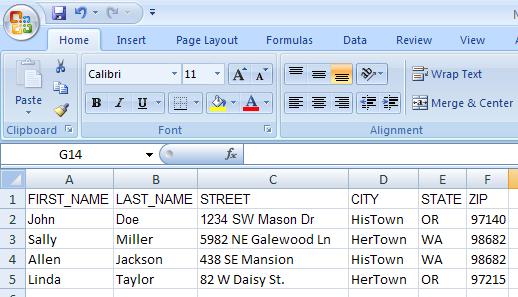 Mailing List By Zip Code | LeadsPlease