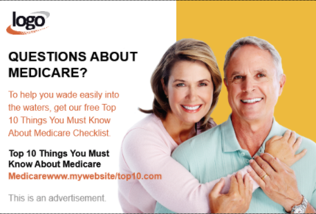 Medicare Direct Mail Postcard